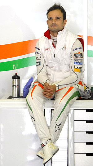 Force India's Vitantonio Liuzzi