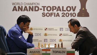 Anand and Topalov