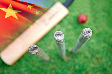 China makes its bow in international cricket
