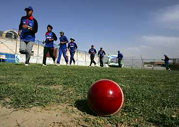'China's players took to fielding and bowling easily'