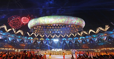 Opening ceremony of the 19th Commonwealth Games