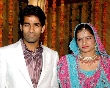 Shivendra Singh and Nishi Chauhan