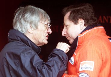Ecclestone and Jean Todt