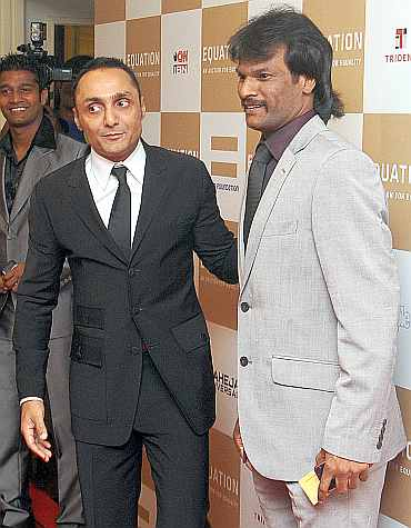 Rahul Bose and Dhanraj Pillay