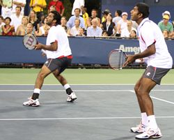 Qureshi and Bopanna at the US Open