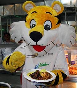 Commonwealth Games mascot Shera