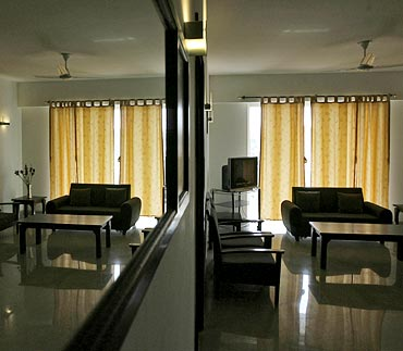 An inside view of an apartment