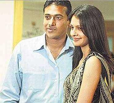 Bhupathi and Shwetha Jaishankar