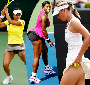 Good Women tennis players no panties Goes!