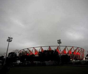 The Jawaharlal Nehru Stadium