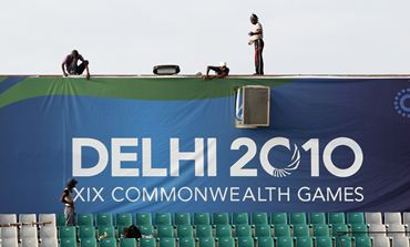A Commonwealth Games hoarding