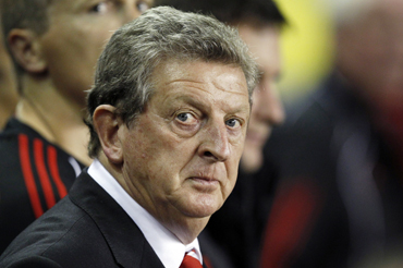 -Liverpool's manager Roy Hodgson takes his seat during their English League Cup soccer m
