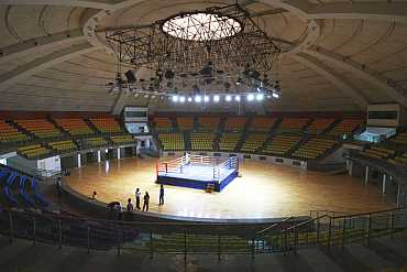 Boxing stadium in New Dlehi