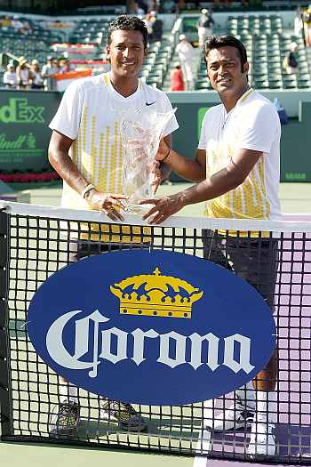 Leander Paes and Mahesh Bhup[athi