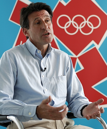 London Olympics chief Sebastian Coe