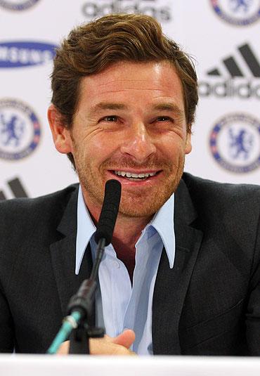 Chelsea coach Andre Villas-Boas