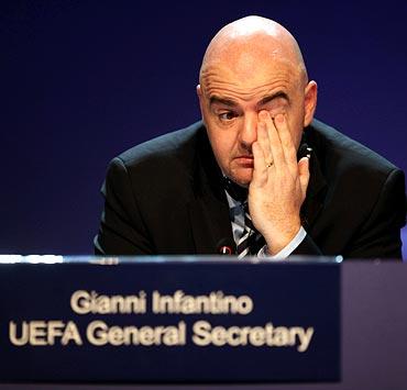 UEFA General Secretary Gianni Infantino