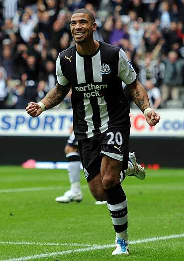 Leon Best scores for Newcastle United