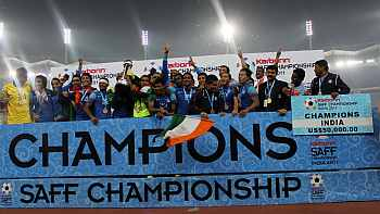 India crwoned SAFF champions
