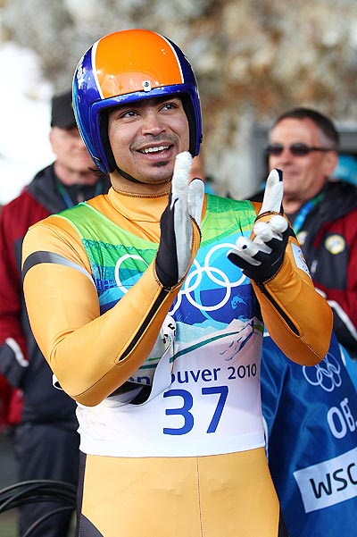 Luger Shiva Keshavan makes history with Asia Cup gold