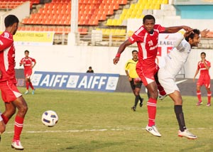 I-League match action
