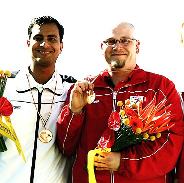 Sanjeev Rajput (left)