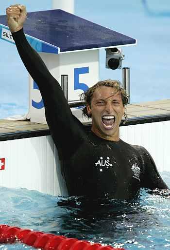 Thorpe Makes Comeback Targets London Olympics Sports