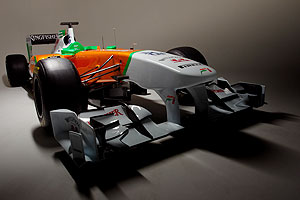 Force India's VJM-04 car