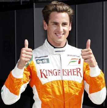 Adrian Sutil Aims For Podium Finish In 2011