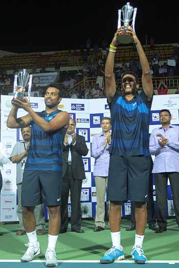 Leander Paes and Mahesh Bhupathi