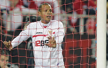 Sevilla's Luis Fabiano