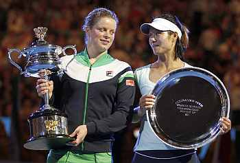 Kim Clijsters and Li Na