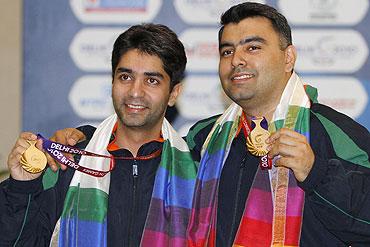 Abhinav Bindra and Gagan Narang