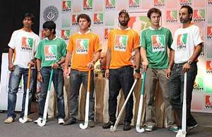 The captains at the WSH press conference in Mumbai on Thursday