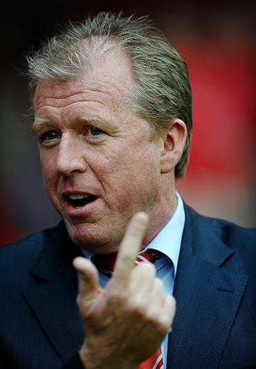 Nottingham Forest coach Steve McLaren