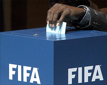 Voting for the FIFA preseidential election