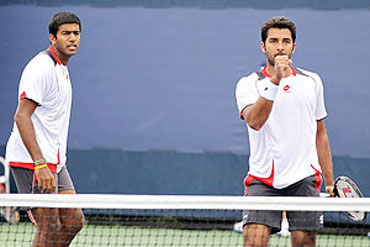 Rohan Bopanna and Aisam Qureshi