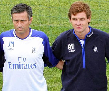 Jose Mourinho (left) and Andre Villas-Boas