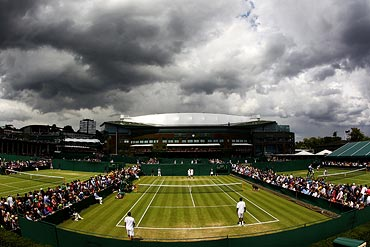 A general view of Court 10