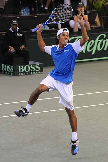 India's Somdev Devvarman