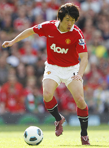 Manchester United's Park Ji-Sung