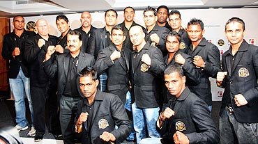The Mumbai Fighters team