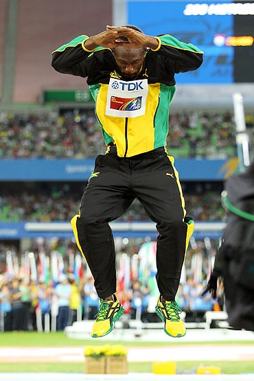 Bolt on a 'high intensity' training level