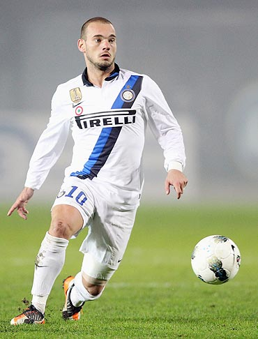 Sneijder setback for Inter
