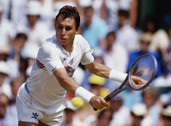 Lendl is not far behind in the list