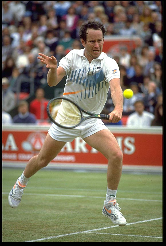 Winning, a habit for McEnroe