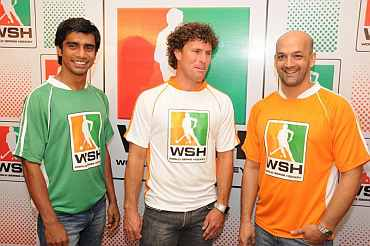 Adrian D'souza, Brent Livermore and Viren Rasquinha