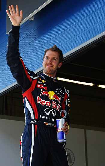 Vettel had vowed to win his second title in style