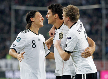 Perfect 10 for Germany