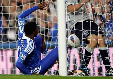 Daniel Sturridge scores for Chelsea against Aston Villa